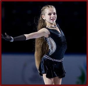 トゥルソワ 髪 かわいい